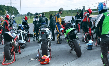 Motorrad Trackday